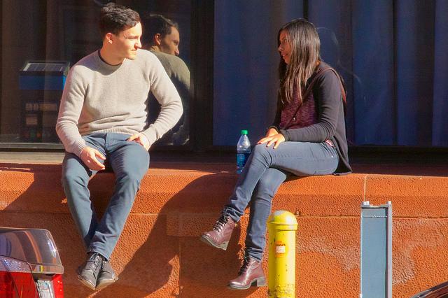 walking conversation